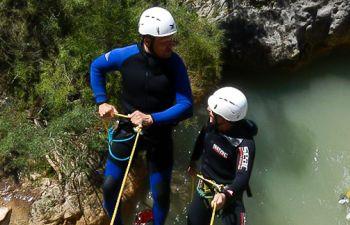 Découverte du Canyoning dans les Pyrénées