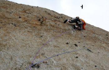 Découverte de l'escalade à coté de Luchon, au cœur des Pyrénées
