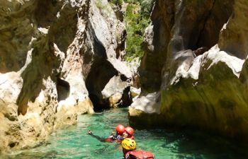Une journée de canyoning dans les Pyrénées catalanes
