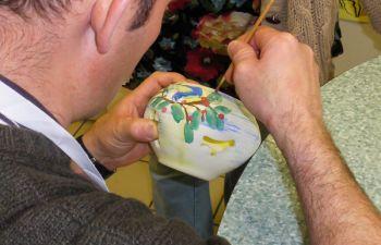 Atelier de décoration de céramique en Haute-Vienne