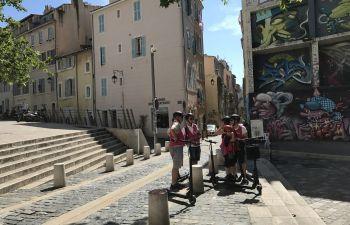 Découverte du cœur de Marseille en trottinette électrique