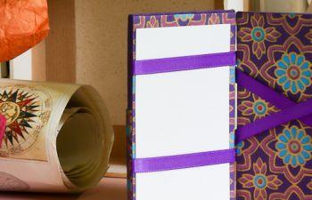 Atelier cartonnage en Finistère : faîtes un porte-feuille magique