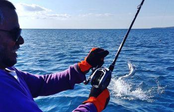 Sortie de pêche en mer sur la Côte d'Azur
