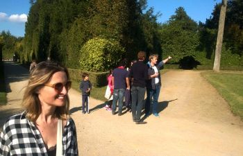 Jeu de piste dans les jardins du château de Versailles ou en ville