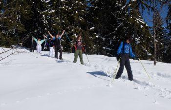"""Balade en raquettes à la découverte de """"la Perle du Mont-Blanc"""""""