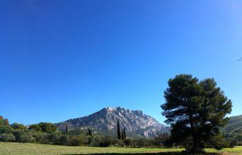 Randonnée sur les traces de Paul Cézanne