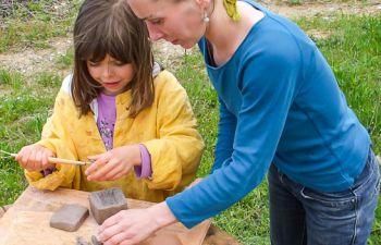 L'art de la poterie pour les tout petits