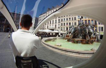 Visite guidée et chasse aux trésors à Lyon en Cyclo électrique