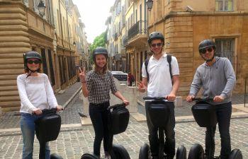 Visite guidée d'Aix-en-Provence en segway