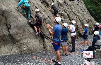 Haute Savoie : séance d'initiation à l'Escalade !