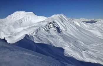 Journée hors piste et ski de randonnée à Vars-Risoul