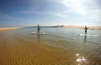 Randonnée en stand-up paddle sur le Bassin d'Arcachon