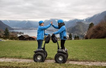 Visite insolite d'Annecy en gyropode segway