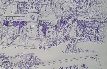 Apprendre à dessiner un carnet de voyage à Aix-en-Provence