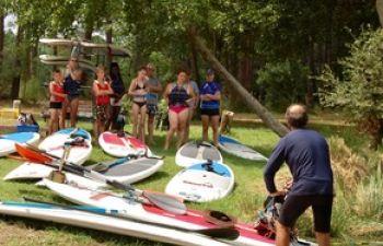 Stand up paddle sur le Lac de Soustons