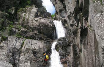 Découverte du canyoning dans les gorges du Chassezac