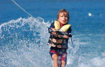 Vol en parachute ascensionnel dans le golfe de Saint-Tropez