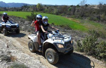 Randonnée en quad en Ardèche