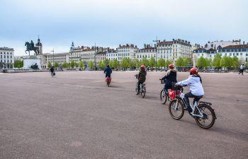Balade à vélo électrique au Parc de la Tête d'Or