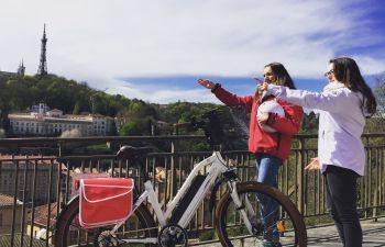 Balade à Vélo électrique : Fourvière et La Croix Rousse