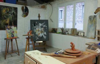 Stage de deux jours de peinture et sculpture