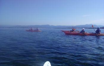 Randonnée kayak aux îles des Embiez