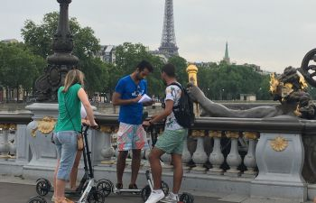 Chasses au trésor à trottinette : Paris le long de la Seine