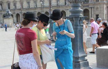 Jeu de piste avec smartphone et GPS à Paris