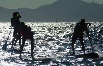 Cours de Stand Up Paddle au Cap d'Antibes