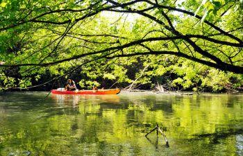 Découverte de la rivière de Sorde-l'Abbaye à bord d'un canoë-kayak