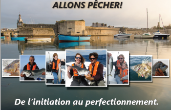 Faire de la pêche à Concarneau, en Bretagne