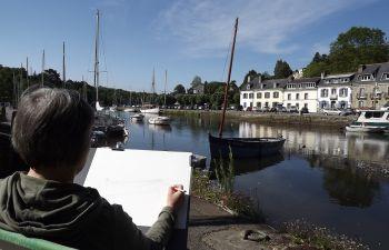 Stage peinture à Pont-Aven et alentours