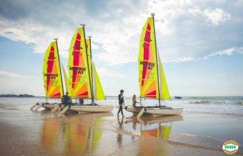 Une semaine de stage catamaran en Bretagne, à Pornichet