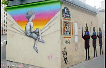 Balade street art à Paris