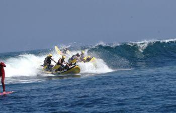 Wave Rafting sur la côte basque à Saint-Jean-De-Luz