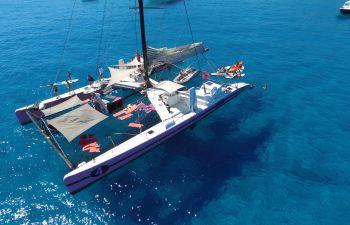 Journée en catamaran à la découverte de Cap Taillat