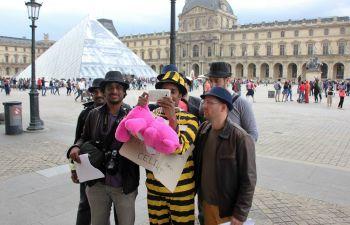 Jeu de piste connecté spécial EVG à Paris