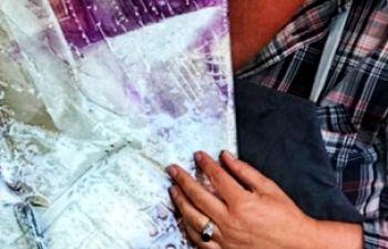 Initiation à l'art abstrait à la résine pigmentée à Honfleur