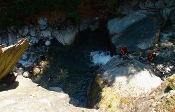Canyoning de l'Eau Rousse
