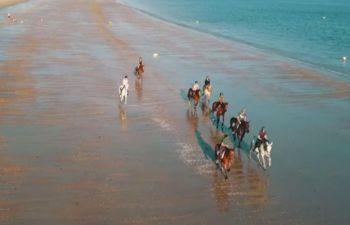 Balade sur la plage à la Baule-Escoublac