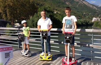 Balade en gyropode dans la ville de Grenoble