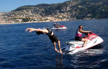Jet Ski initiation à Villeneuve-Loubet, proche d'Antibes