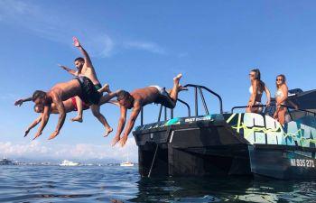 Boat Party et découverte de la Côte d'Azur