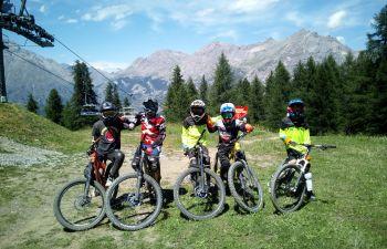 Session Bike Park à Serre Chevalier