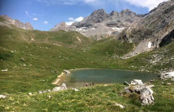 Randonnée Montagne sur la vallée de Méribel