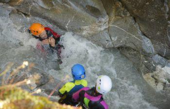 """Parcours canyoning """"Le Fournel"""" dans les Hautes-Alpes"""