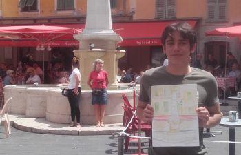 Cours particulier de croquis dans le Vieux Nice