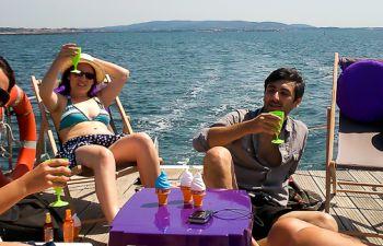 Sortie à la journée avec skipper en péniche
