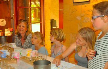 Visite au Château et dégustation en famille !
