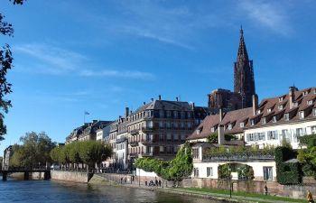 Balade dans les rues de Strasbourg